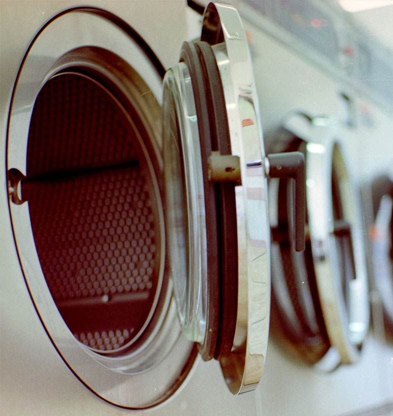 launderette and dry cleaners
